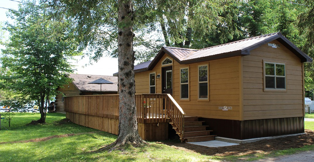 2 Bedroom Cabin Red Eagle Family Campground