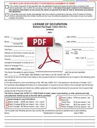 LicenceOfOccupation